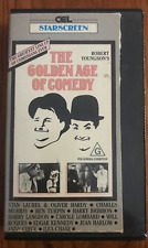 THE GOLDEN AGE OF COMEDY ROBERT YOUNGSON SLIP CASE BOX RARE PAL VHS VIDEO