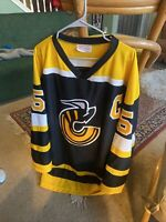 Cincinnati Stingers WHA Men's Large Jersey #5 Captain Bliss Silvestri Sports L/G