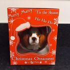 Cavalier King Charles Spaniel Christmas Ornament Shatter Proof Ball Dog Snow