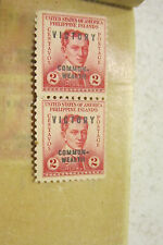 Lot of Vintage 7 U.S. Post stamps Philippines 2 cent Rizal overprint Victory