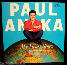 PAUL ANKA-MY HEART SINGS-Near Mint Early Rock Teen Idol Album-ABC #296 mono