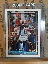 1992-1993 Topps Shaquille O'Neal RC 92-93