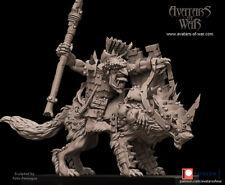 Avatars Of War 3D Printed miniature Gobelin sur loup 2