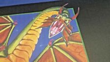 SHIVAN DRAGON Play Mat MTG SIGNED by Melissa Benson OFFICIAL WotC Wizards Magic