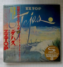 ZZ TOP - Tejas JAPAN SHM MINI LP CD OBI NEU! WPCR-15171