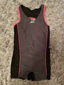 Slazenger Swimsuit Age 11-12 Years 156cm Boy shorts legs racer back
