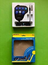 SONY DRP 1 E Drum PAD Digital ELECTRIC Music SET 80 90 OVP Box Mic NEU Beat 3 C