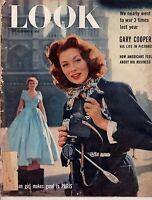 1955 LOOK February 8-Gary Cooper;Jack Paar;Jackie Robins son;Art Treasures found