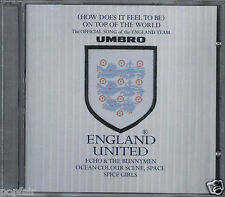 ENGLAND UNITED - ON TOP OF THE WORLD 1998 UK CD SINGLE 3 LIONS SPICE GIRLS