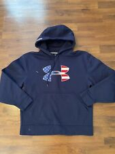Mens Size Small Under Armour Navy Blue Protect This House Hoodie