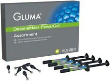 GLUMA DENTAL DESENSITIZER POWERGEL HERAEUS KULZER. 4 SYRINGES x 1gr.