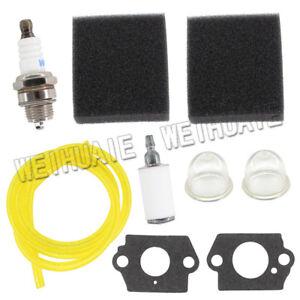 Air Fuel Filter Kit For Homelite ST525 ST725 SX135 ST385BC ST285BC Spark Plug