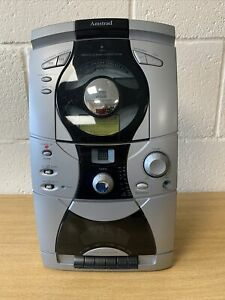 amstrad vertical CD radio cassette system MC2400 Working