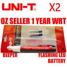 UNI-T Noncontact VOLTAGE DETECTOR TESTER UT12A Beeper LED indicator 90V-1000V