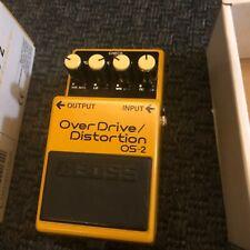 Boss OS-2 Overdrive Distortion Guitar Pedal + Box