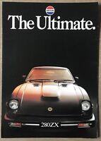 1978 DATSUN E20 CAMPERVAN 2p Australian Brochure NISSAN