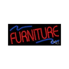 "New ""Furniture"" Logo 27x11 Solid & Animated Led Sign w/Custom Options 20800"