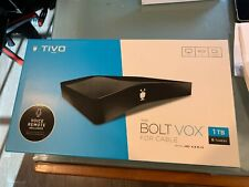 TiVo Bolt Vox 1Tb Hdd 4K Dvr with Voice Control - Black