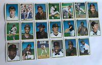 1990 SAN DIEGO PADRES Bowman COMPLETE Baseball Team SET 20 Cards GWYNN ALOMAR