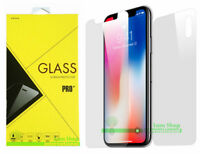 Premium Tempered Glass Screen Protector For Apple iPhone X FULL BODY Front+Back