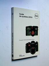 LEICA GUIDE du système LEITZ catalogue 1984 matériel photographie et cinéma