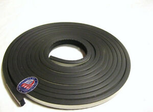 """20 Ft. Universal Hot Rod Door & Trunk Seal Kit - Ribbed Style - 5/8"""" x 3/8"""""""
