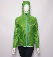 Vaude Womens Scopi Windshell 2 Jacket Hooded Pertex Apple Green size 38/S