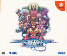 Phantasy Star Online  Sega Dreamcast Japan Import Near Mint/ Near Mint