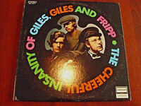 Giles, Giles And Fripp‎–The Cheerful Insanity 1968y. USA Deram( EX+ / NM. ) WOW!