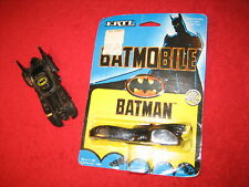 NEW MOC VINTAGE 1989 ERTL DIE CAST METAL BATMAN BATMOBILE FAO SCHWARZ BONUS CAR