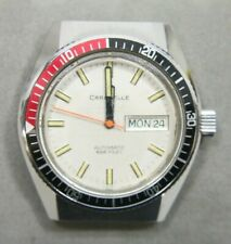 Vintage Bulova Caravelle Automatic 666 Devil Divers Watch - Free Shipping