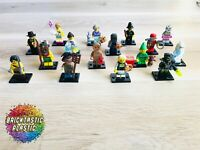 LEGO - Minifigure series 11 - complete set x16 figs - 71002 RARE!