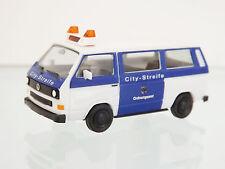 "Herpa 093101 - 1:87 - VW T3 bus "" citystreife BUREAU DES COMMANDES LEVERKUSEN """