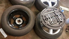 2004 MERCEDES S-CLASS W220 W280 SPARE ALLOY WITH EMERGENCY TOOL KIT 225/60/16