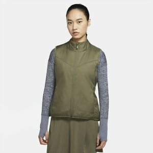 NWT! Womens Nike Reversible Synthetic Filled Golf Vest Green CK5866-222 Size-L