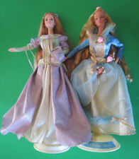 2000 Barbie Princess & The Pea and 1997 Sleeping Beauty- Mint & Complete