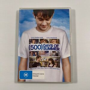 500 Days Of Summer (DVD 2010) Joseph Gordon-Levitt Zoey Deschanel Region 4