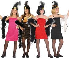 Rock N Roll Costume per bambini in 4 colori NUOVO-ragazza Carnevale Travestimento