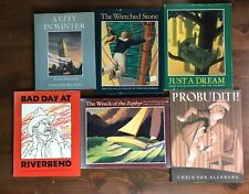 Lot 6 Chris Van Allsburg Books HBDJ Probudit Just Dream Wretched Stone 4 1st