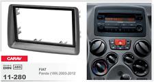 CARAV 11-280 2Din Marco Adaptador Kit de Radio para FIAT Panda (169) 2003-2012