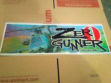 zero gunner arcade marquee #5