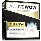 Teeth Whitening Kit with Organic Charcoal - Natural Teeth Whitening with LED...
