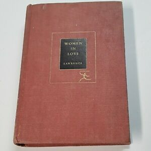 D. H. Lawrence WOMEN IN LOVE Modern Library c. 1950 *