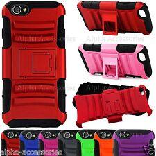 iPhone 6 Plus Anti-choc Coque Double Couche Silicone & Rigide Etui Stand