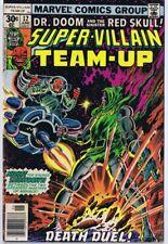 Super Villain Team Up #12 ORIGINAL Vintage 1977 Marvel Comics Red Skull Dr Doom