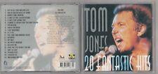 TOM JONES  =  {CD - 20 TRACKS}  =  20 FANTASTIC HITS  =