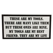These are my Tools Rifleman's Creed Tool Box sticker USMC Full Metal Jacket