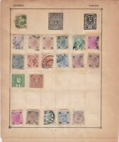 austria stamps page ref 17619