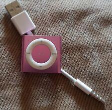 Apple iPod Shuffle 4th Generation - PINK - 2GB Serial CC4FDBNPDCMK