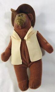McDonald's Happy Meal toy plush Walt Disney's The Country Bears Zeb Zoober bear